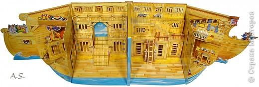"""Вот такую интересную книгу-игрушку приобрела своим детям. """"Чудесная лодка Ноя"""" Им очень понравилось, да и мне признаться, тоже. А ведь что-то подобное можно сделать и своими руками. Может кому из мастериц идея и пригодится.  фото 9"""