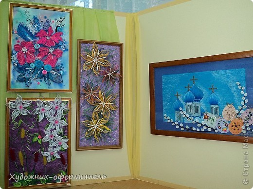 Персональная выставка на области Машеньки:))) фото 2