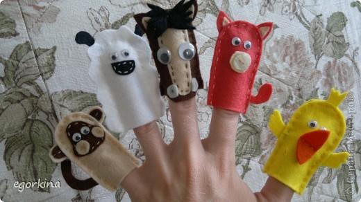 пальчиковые звери фото 2