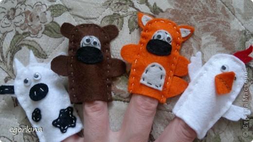 пальчиковые звери фото 3