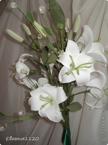 Букет с лилиями фото 1