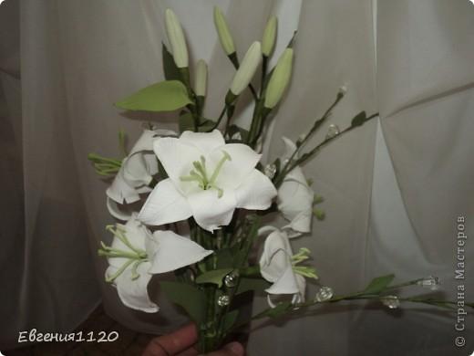 Букет с лилиями фото 3