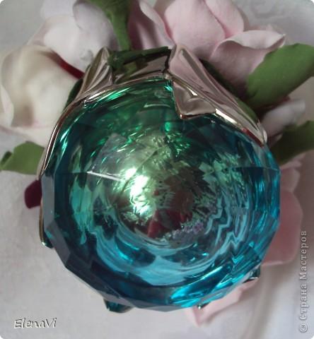 минибукетики в крышках от парфюма :-) фото 3