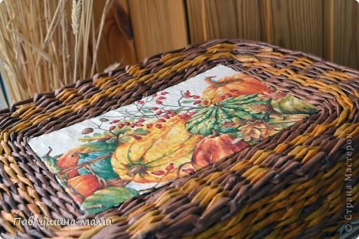 Добрый день всем Мастерицам!) Сплела короб под овощи, размеры соответствуют назначению) примерно 55*45*30 см фото 1
