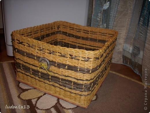 Сплелись две коробки для дочери в командор. Спасибо Тане Павловне!!!!!http://stranamasterov.ru/node/303865 фото 5