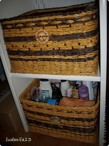 Сплелись две коробки для дочери в командор. Спасибо Тане Павловне!!!!!http://stranamasterov.ru/node/303865 фото 1