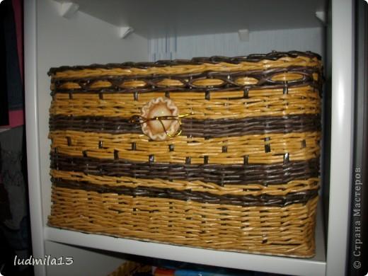 Сплелись две коробки для дочери в командор. Спасибо Тане Павловне!!!!!http://stranamasterov.ru/node/303865 фото 3