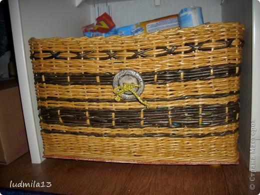 Сплелись две коробки для дочери в командор. Спасибо Тане Павловне!!!!!http://stranamasterov.ru/node/303865 фото 2