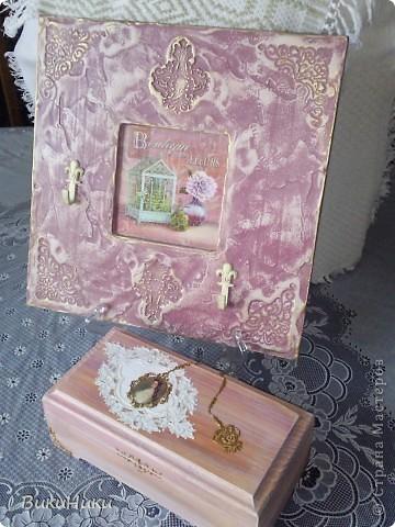 Ключница и шкатулка. фото 1