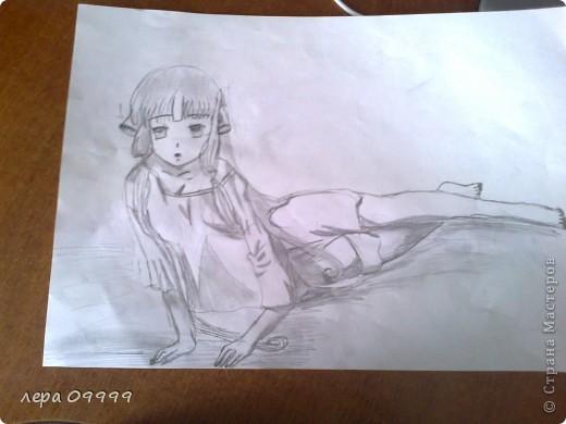 аниме девушка