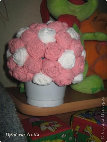 Цветочный шар в подарок для сестры мужа фото 3