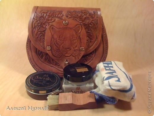 Поясная сумка-кошель Тайгер фото 6
