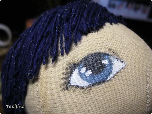 Немного деталек по новой куколке.  Кукла - символический подарок на юбилей, поэтому полностью пока не выставляю фото 1
