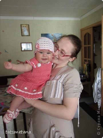 Комплектик для внучки фото 1