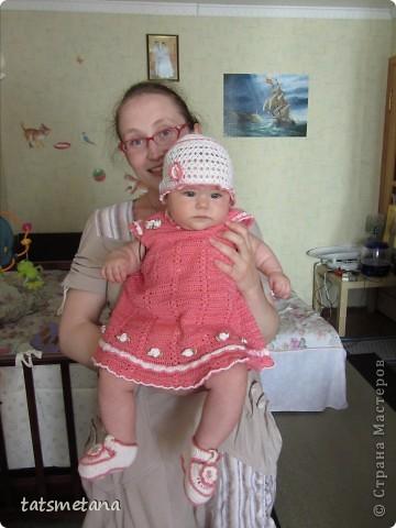 Комплектик для внучки фото 2