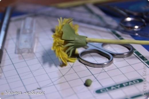Что нам потребуется: глина желтая,зеленая, и светло-зеленая стек проволока папка или паста-машина стек с булькой маленькой пастель терпение и ... терпение)) фото 11