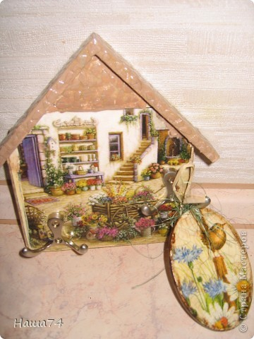 Салфетка, подрисовка, яичная скорлупа и многоооо слоев лака)) фото 4