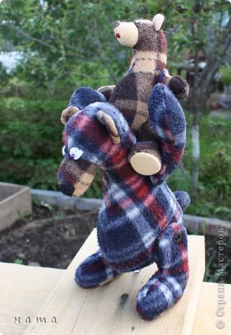 У моего Медведика дочка пошилась http://stranamasterov.ru/node/364578 Все на совместные пошивушки к Свете!!!!! Еще куча времени!!!  фото 6