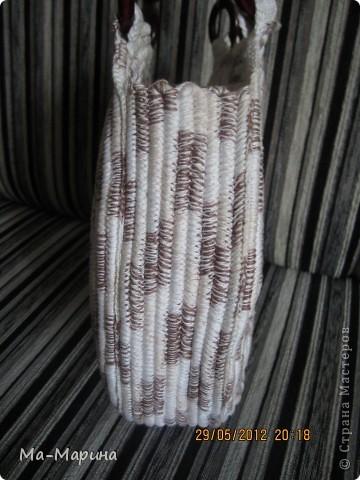 Насмотревшись на просторах интернета вязанных сумок,решила и я сотворить для себя красоту.И вылилась эта красота аж в три сумки. фото 6
