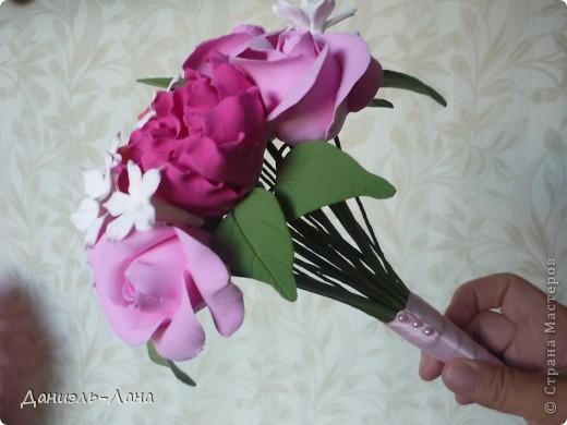 мини букет (букет невесты) фото 3