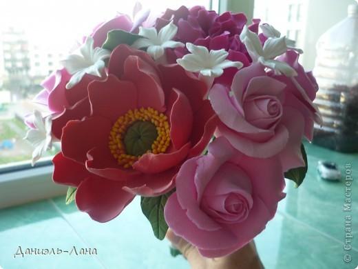 мини букет (букет невесты) фото 4