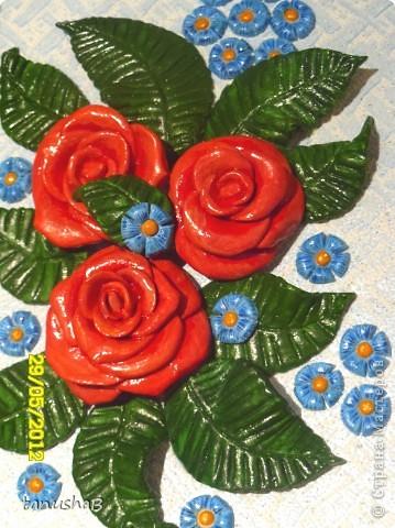 Эти розы я подарила одному очень хорошему человеку в знак благодарности... фото 1
