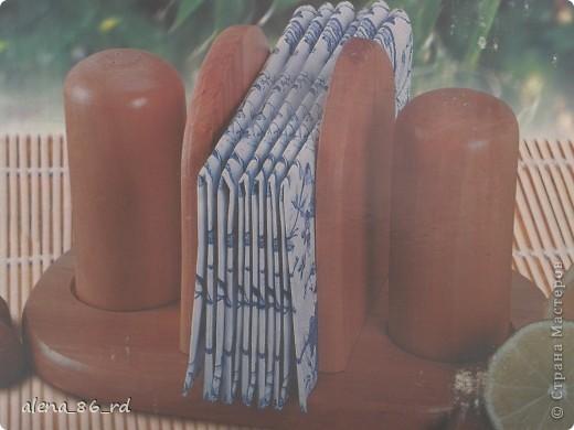 Доброго всем времени суток! Купила на днях салфетки и в этот же вечер украсила набор для специй. фото 2