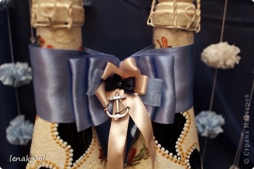 """Второй пост посвящен более привычному для меня занятию - декупажу и декору свадебного набора.Начало истории  http://stranamasterov.ru/node/371347#comment-4261720. Это """"жильцы"""" свадебного стола молодых. почти в полном сборе. фото 18"""