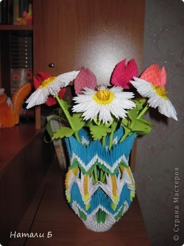 Букет цветов и ваза фото 3