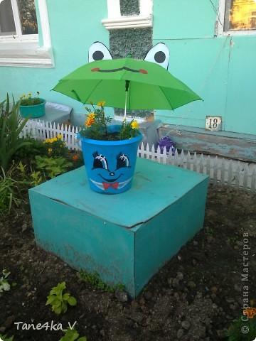 Продолжаю делиться с вами садовыми поделками! Как мама украшает наш сад :) фото 3