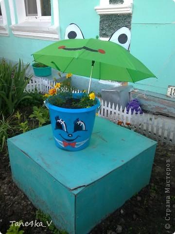 Продолжаю делиться с вами садовыми поделками! Как мама украшает наш сад :) фото 1