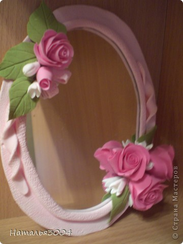 Зеркало в рамочке фото 1