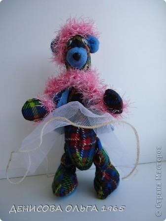 Знакомтесь - медведица Моня (почему Моня - не знаю, так назвали) фото 1