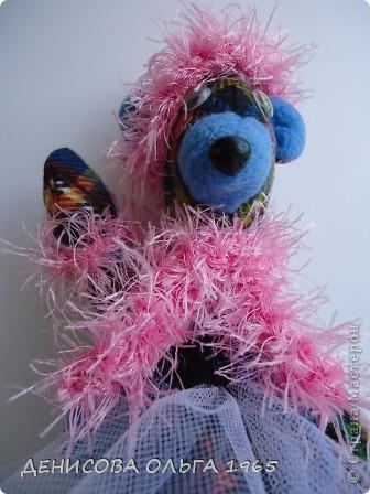 Знакомтесь - медведица Моня (почему Моня - не знаю, так назвали) фото 8
