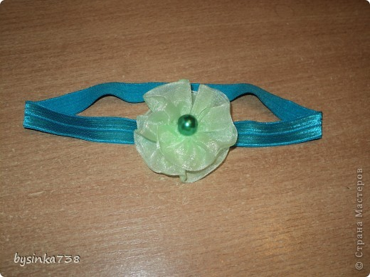 Заколочки-ободочки для маленькой принцессы фото 4