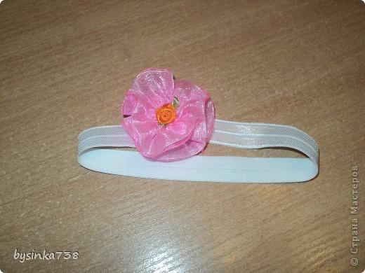 Заколочки-ободочки для маленькой принцессы фото 1