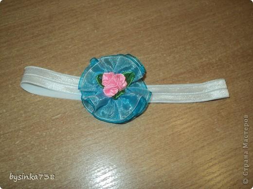 Заколочки-ободочки для маленькой принцессы фото 3