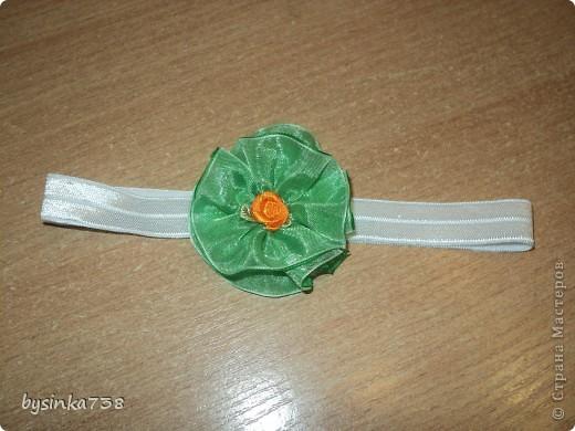 Заколочки-ободочки для маленькой принцессы фото 5