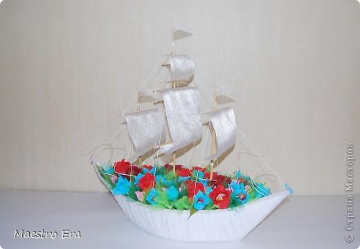 Вот такой корабль у меня получился!!! фото 1
