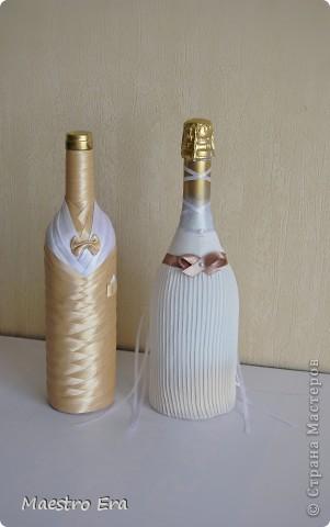Наборчик для свадьбы в бело-золотых тонах. фото 5