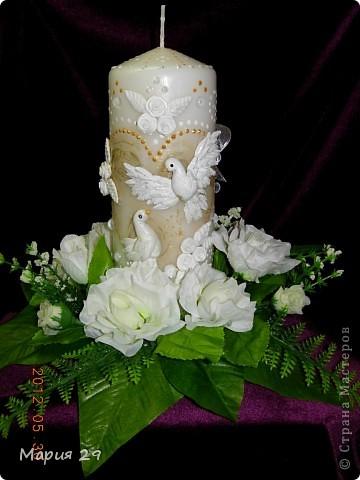 Свадебные голубки фото 1