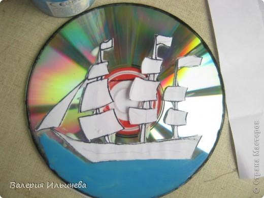 У каждого есть ненужные CD-диски.И вот я нашла на них применение: фото 6