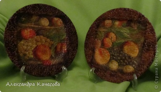 Сделала еще одну тарелку с яичным кракле и получилась вот такая пара фото 1