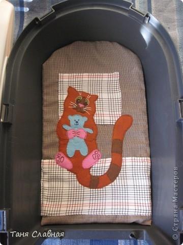 Матрасик в кошачью переноску фото 4