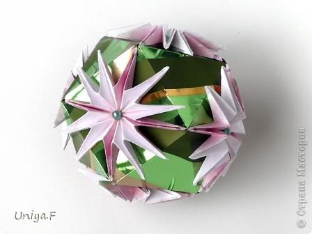 Кусудама Оригами Проставляюсь