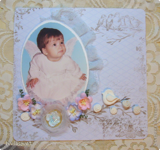 это моя первая внучечка...Лизонька...которая в предыдущем репортаже пекла пирог http://stranamasterov.ru/node/368112 ...только маленькая совсем... фото 1