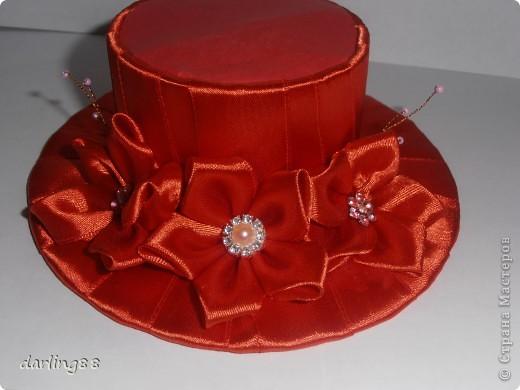 Очень понравился процесс создавания этой шляпки) фото 1