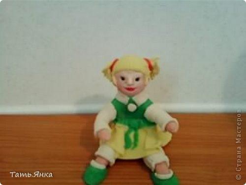 моя первая куколка из Х.Ф. фото 2