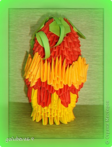 Яблоко в вазочке. фото 1