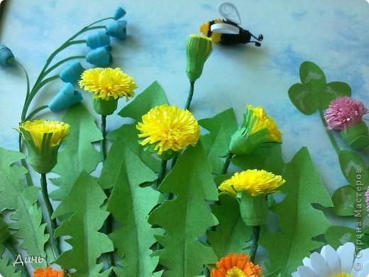 Здравствуйте, дорогие мастерицы! У меня снова полевые цветочки. фото 2